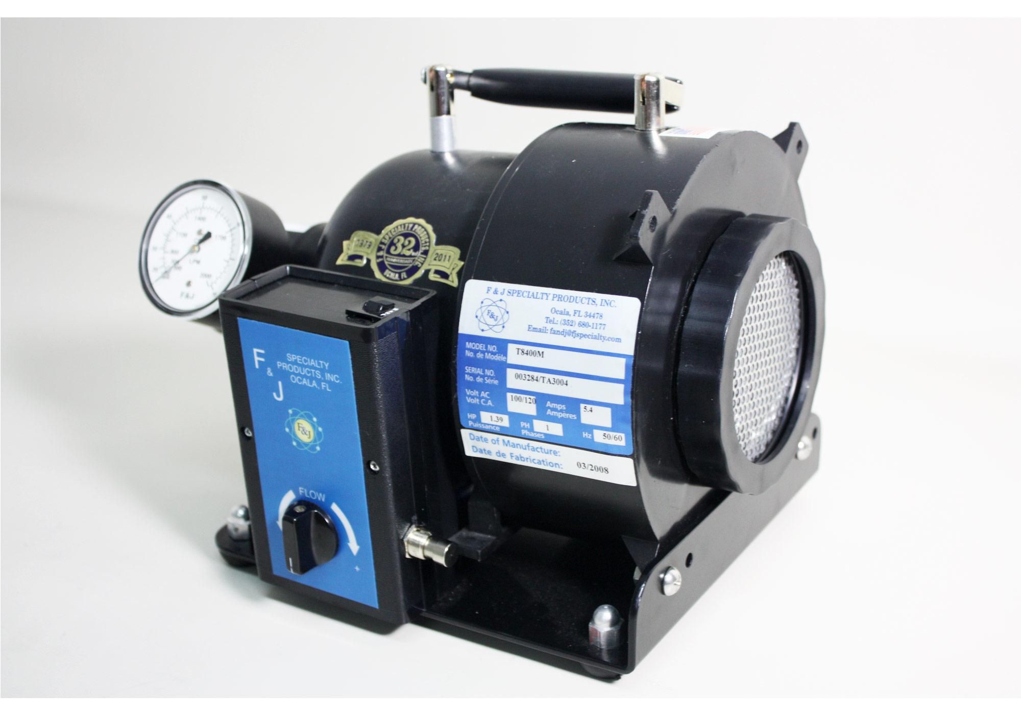 High Volume Air Blowers : T and e high volume air sampler fj specialty